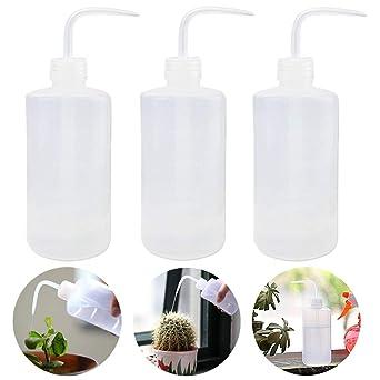 Vidillo Botella, riego de Flores para Plantas, 3 Unidades de Botella de Lavado de