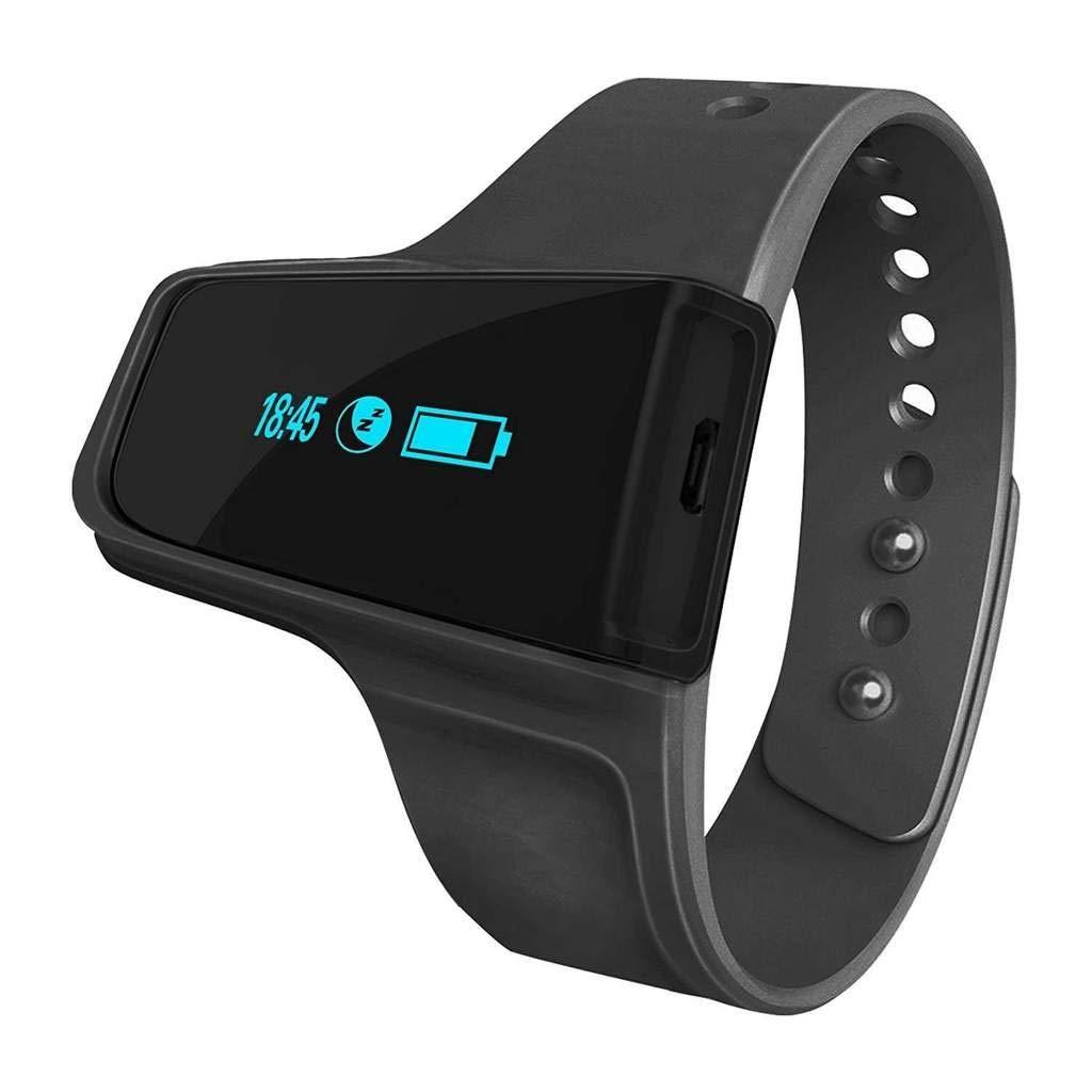 BodiMetrics O2 Vibe Sleep & Fitness Monitor - Oxygen & Heart Rate Recorder - Wearable Health & Activity Tracker