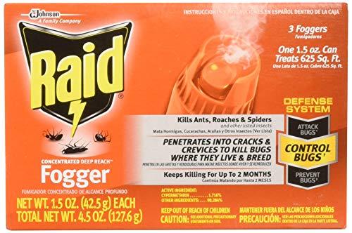 (Raid 820421 4-Count Concentrated Deep Reach Fogger)