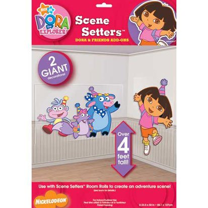 Dora and Friends 50in Scene Setter Add-Ons 2ct