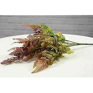 hilingo Artificial Mini Boston Fern Plants for Home and Garden Decoration 3