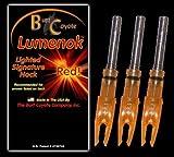 Lumenok Signature Nock (3-Pack), Orange