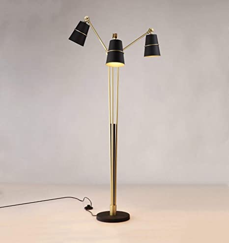 Amazon.com: CWJ Lighting - Long Rod Reading Floor Lamp ...