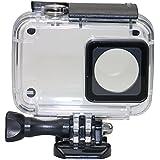 REVTEBAO小米小蚁二代4K运动相机防水壳 小蚁摄像机 潜水壳保护壳2代配件(黑色)
