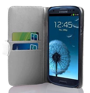 Cadorabo - Carcasa para Samsung Galaxy S3 / S3 NEO, color blanco