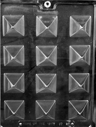 SMALL PYRAMID CHOCOLATE CANDY MOLD
