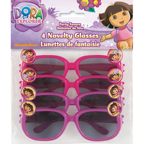 Dora The Explorer Sunglasses - Party Favors - 4 per - Sunglass Dora