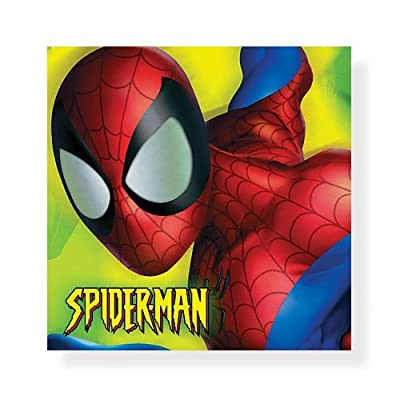 Spider-Man Beverage Napkins - 16 Count: Toys & Games