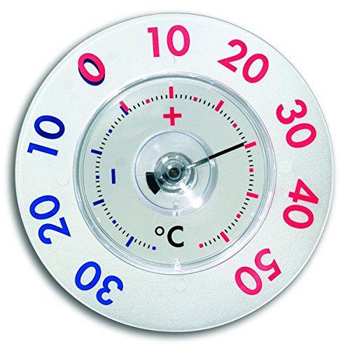 TFA TERMOMETRO TWATCHER XI Termometro da finestra in plastica per misurare la temperatura esterna 14.6014