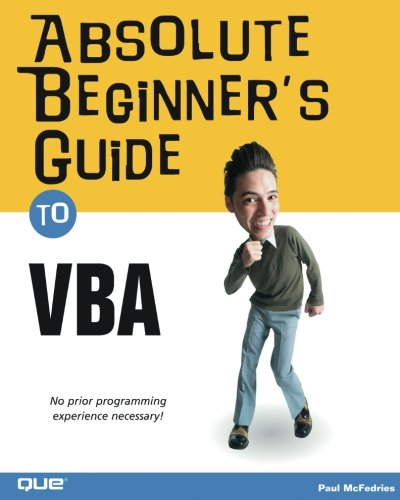 Absolute Beginner's Guide to VBA by Brand: Que Publishing