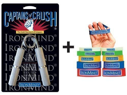 IronMind Two-Way COC Grip Set COC Trainer Gripper and Expand-Your-Hand Bands