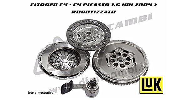 Kit Embrague Volante Citroen C4 - C4 Picasso 1.6 HDI 04- > Cambio robotizzato: Amazon.es: Coche y moto