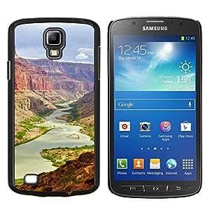 Caucho caso de Shell duro de la cubierta de accesorios de protección BY RAYDREAMMM - Samsung Galaxy S4 Active i9295 - gran Cañón