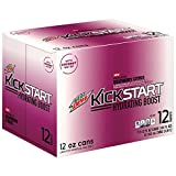 Mountain Dew Kickstart Hydrating Boost, Raspberry Citrus, 12 Ounce, 12 Count