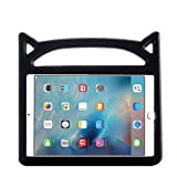 New iPad 9.7 2018 2017 Case for Kids - ThreeJ Lightweight Shockproof Protective Case Double Stand for Apple iPad 9.7 inch 2018 2017 (iPad-9.7 - Black)