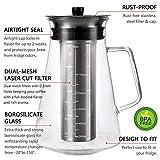 Airtight Cold Brew Iced Coffee Maker 34 Ounce/1