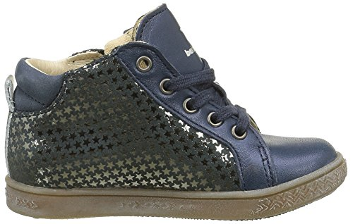 babybotte Adrenaline Mädchen Sneakers Blau (233 Marine Imp Etoiles)