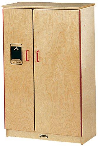 Jonti-Craft 0210SA School Age Natural Birch Play Kitchen (School Age Refrigerator)