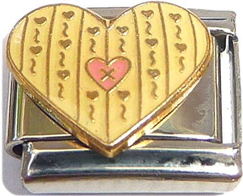 Heart Italian Charms - Cute Heart Italian Charm