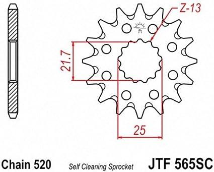 JT Sprockets JTF565.12SC 12T Steel Front Sprocket