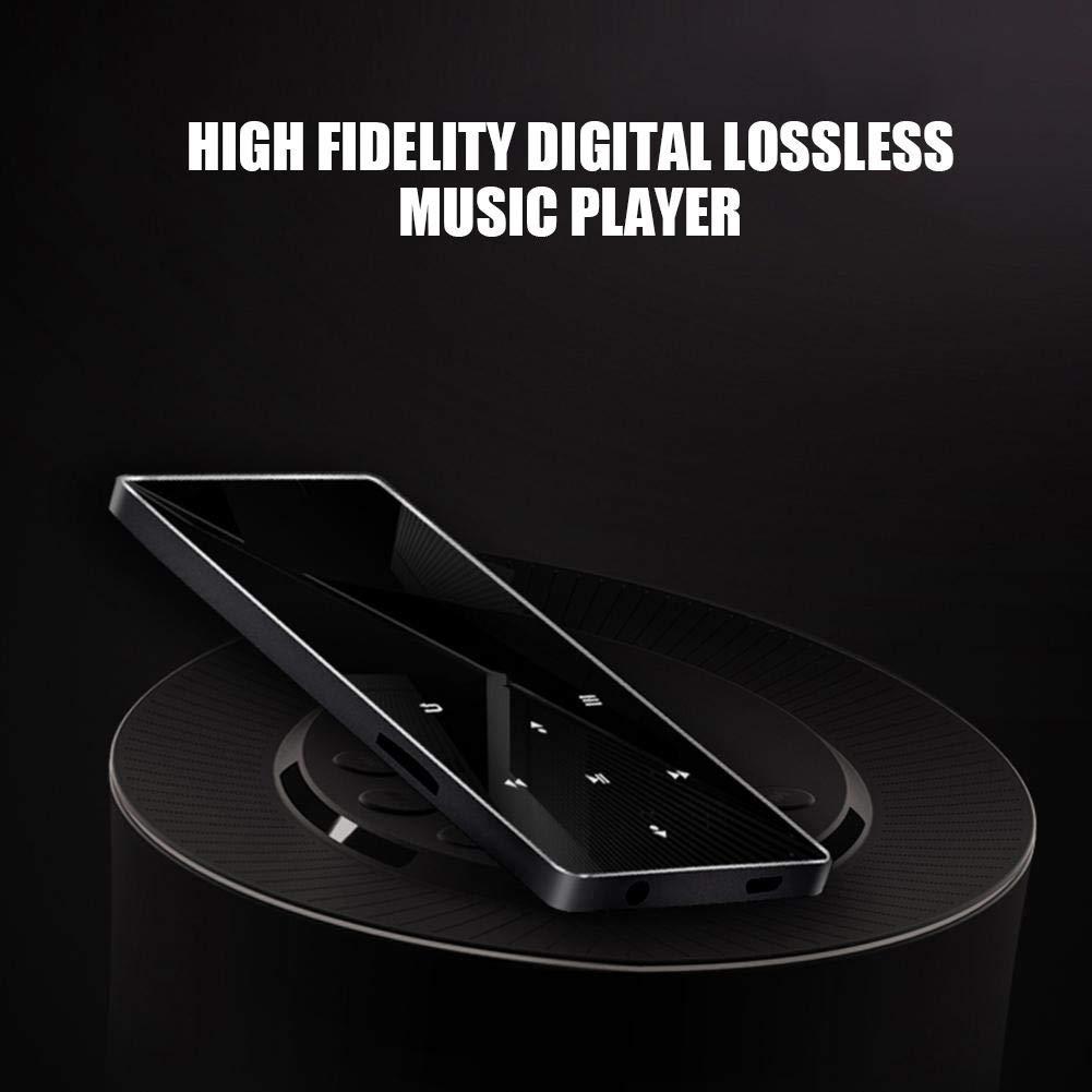 HiFi MP3 Player, Portable Mini High Definition MP3 Digital Music Player High Resolution Lossless Sound HD Audio Player with Card Slot Screen Display by Pomya (Image #4)
