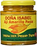 Doña Isabel Aji Amarillo Molido (Yellow Hot Pepper Paste) 7.5oz Single Bottle - Product of Peru