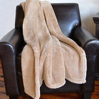 Amazon.com: Extra-Fluffy Throw Blanket: Home & Kitchen