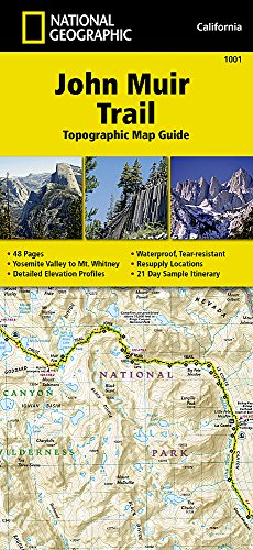 - John Muir Trail Topographic Map Guide (National Geographic Topographic Map Guide)