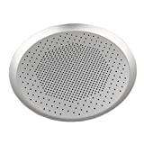 Prettyia Home Hotel Round Baking Pizza Pan Tray Holes Plate Kitchen Anodize 6.5~15inch - 13 inch