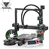 TEVO Tarantula I3,Aluminium Extrusion 3D Printer DIY Kit Large Printing Bed with Auto Leveling Flex Extruder with 2 Rolls Filaments and SD Card