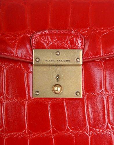 Marc Jacobs Metropolitan, Borsa a mano donna Rosso Flame