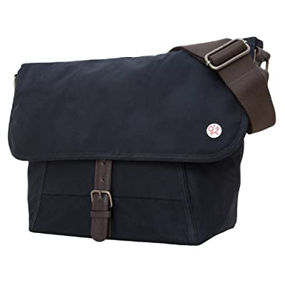 6051d530777 Black Lincoln Waxed Small Messenger Bag by Token