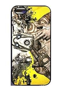 Borderlands 2 iphone 4 4s i6 Silicone Case - Black- 334