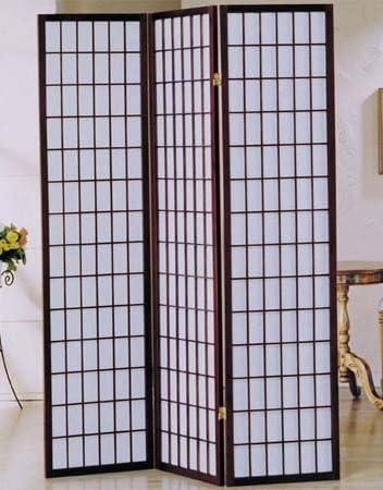 AMBfurniture.com 3 Paneles de Acabado de Cerezo Separador de habitación Pantalla Shoji: Amazon.es: Juguetes y juegos
