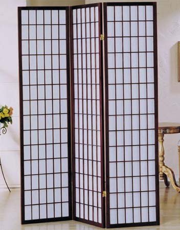 Amazoncom 3 panel cherry finish room divider shoji screen Kitchen
