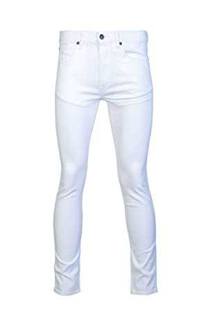 fc2df077 Amazon.com: Hugo Boss Mens Skinny Jeans Hugo 734 50382891 Size 31/32 White: HUGO  BOSS: Clothing