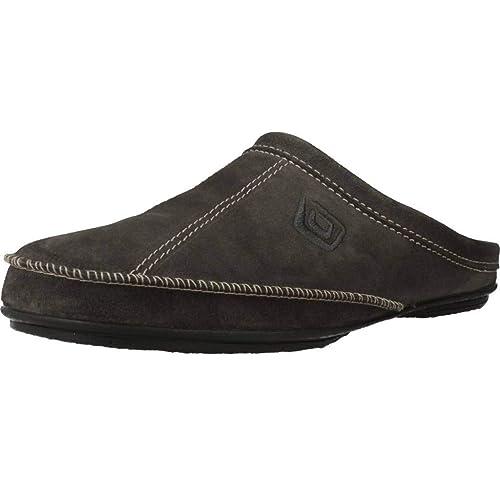 Zapatillas de Estar por casa de Hombre, Color Gris, Marca VULLADI, Modelo Zapatillas De Estar por Casa De Hombre VULLADI 9612 70 Gris: Amazon.es: Zapatos y ...