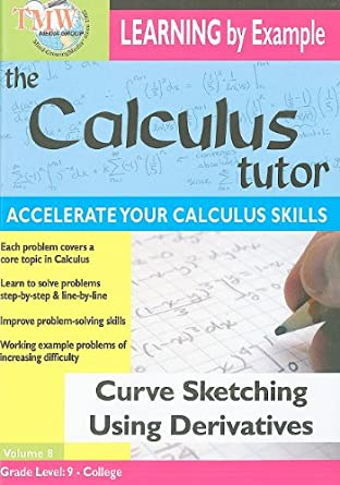 Amazon com: Curve Sketching Using Derivatives: Calculus