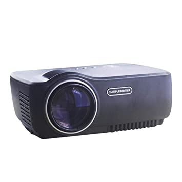 Mini proyector Proyector LED de Video HD 1080P Telefono movil ...