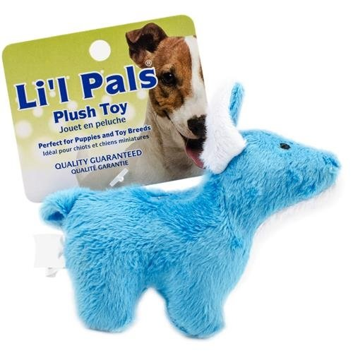 Lil' Pals Plush Small Dog/Pet Toy w/ Squeaker (Dog)