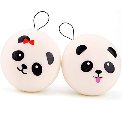 Cellphones & Telecommunications Slow Rising Phone Straps Panda Toast Squishy Jumbo Bread Mochi Bun Scented Pendant Cake Kid Fun Toy Gift