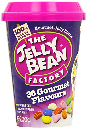 The Jelly Bean Factory - 36 Gourmet Flavours - Cup - 200g by The Jelly Bean Factory