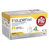 Pic Agujas para Insulina 32 g 4mm, caja 100 piezas