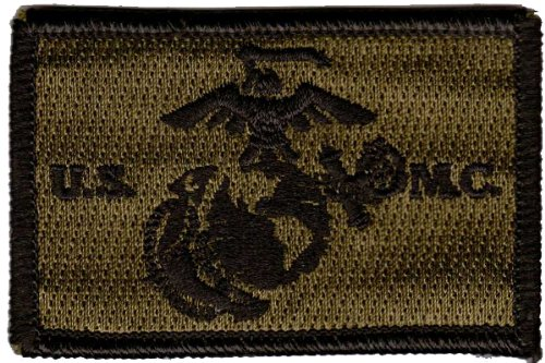 USMC Tactical Patch - Olive Drab by Gadsden and Culpeper