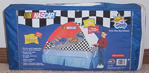 ERO Kids NASCAR Twin Size BED DOME/TENT Hide 'n Sleep ()