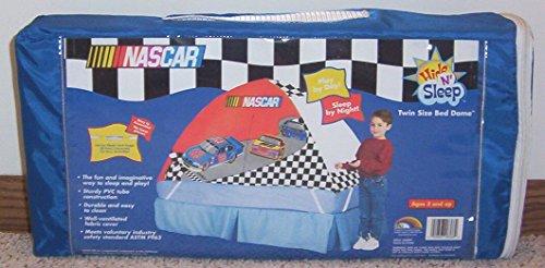 ERO Kids NASCAR Twin Size BED DOME/TENT Hide 'n Sleep - Bed Nascar Twin