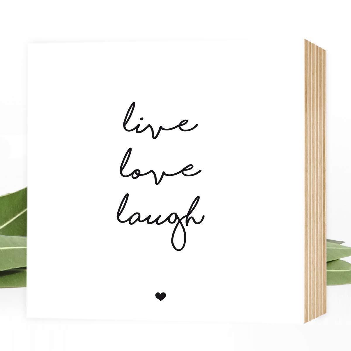 Holzbild als Hochzeitsgeschenk