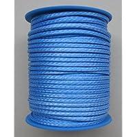 Gepotex Dyneema - Corda intrecciata, diametro 2,5 mm - 25 m, Colore: Blu