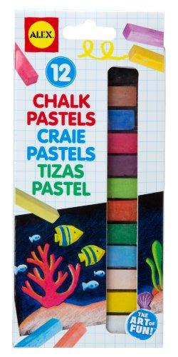 (ALEX Toys Artist Studio 12 Chalk Pastels)