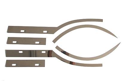 Truckdanet - Accesorios de acero inoxidable para camión DAF ...
